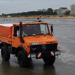 Der Wattrettungsunimog der NHC - 2014 / © Freiwillige Feuerwehr Cuxhaven-Duhnen
