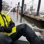 Anlegemanöver © Freiwillige Feuerwehr Cuxhaven-Duhnen
