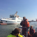 Nach kurzem Zwischenstopp auf dem Rückweg © Freiwillige Feuerwehr Cuxhaven-Duhnen