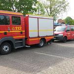 Die Fahrzeuge aus Duhnen © Freiwillige Feuerwehr Cuxhaven-Duhnen