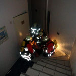 Rettung aus dem Keller © Freiwillige Feuerwehr Cuxhaven-Duhnen