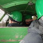 In der Grubenbahn © Freiwillige Feuerwehr Cuxhaven-Duhnen