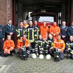 Die erfolgreichen Lehrgangsteilnehmer © Feuerwehr Cuxhaven