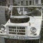 1975 stellte die Kurverwaltung einen DKW-Munga zur Wattrettung in Betreib