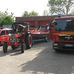 Fertig zur Abfahrt zum Wochenmarktplatz © Freiwillige Feuerwehr Cuxhaven-Duhnen