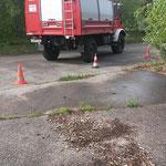 Rückwärts um die Ecke © Freiwillige Feuerwehr Cuxhaven-Duhnen