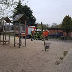 Die FF Duhnen rückt an © Freiwillige Feuerwehr Cuxhaven-Duhnen