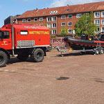 """Das neue Boot der BF - """"RTB Cuxhaven"""" © FF.Cuxhaven-Duhnen"""