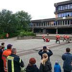 Die Zuschauer sind zufrieden © Freiwillige Feuerwehr Cuxhaven-Duhnen