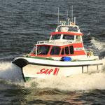 """Tochterboot """"Mathias"""" - DGzRS / © Freiwillige Feuerwehr Cuxhaven-Duhnen"""