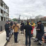 Praxisprüfung Knoten © Freiwillige Feuerwehr Cuxhaven-Duhnen