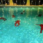 Gewöhnungsübung Schwimmen mit Kleidung © FF.Cuxhaven-Duhnen