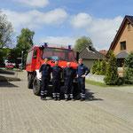 Lutz und seine Fahrschüler © Freiwillige Feuerwehr Cuxhaven-Duhnen