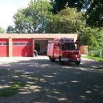 Das LF 8 der FF Groden an der Duhner Wache © Freiwillige Feuerwehr Cuxhaven-Duhnen