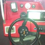 Der Fahrstand auf der Steuerbordseite / © Freiwillige Feuerwehr Cuxhaven-Duhnen