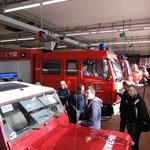 Fahrzeughalle © Freiwillige Feuerwehr Cuxhaven-Duhnen