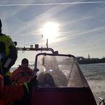 Vorbei an der Alten Liebe © Freiwillige Feuerwehr Cuxhaven-Duhnen