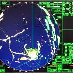 Das Radarbild eines Teils des Cuxhavener Wattengebiet / © Freiwillige Feuerwehr Cuxhaven-Duhnen