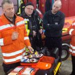 Der Notfallrucksack © Freiwillige Feuerwehr Cuxhaven-Duhnen