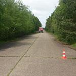 Bremsversuche... © Freiwillige Feuerwehr Cuxhaven-Duhnen