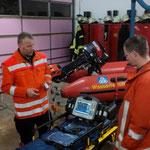 Defibrillator/EKG © Freiwillige Feuerwehr Cuxhaven-Duhnen