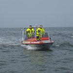 """Rettungsboot """"Franz Mützelfeldt"""" / © Freiwillige Feuerwehr Cuxhaven-Duhnen"""