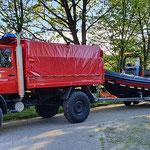 Die neue Wattrettungs-Einheit der FF Duhnen © FF.Cuxhaven-Duhnen