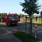 Bereitstellungsraum des Duhner TSF © Freiwillige Feuerwehr Cuxhaven-Duhnen