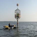 Anfahren an das Objekt © FF.Cuxhaven-Duhnen