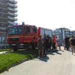 Watteinsätze sorgt immer wieder für Aufsehen am Strand © Freiwillige Feuerwehr Cuxhaven-Duhnen