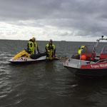 Franz Mützelfeld und Jetski der DLRG Zwangspause © Freiwillige Feuerwehr Cuxhaven-Duhnen