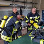 Vorbereitung der Trupps © FF-Duhnen