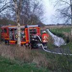 Offenes Gewässer © Freiwillige Feuerwehr Cuxhaven-Duhnen