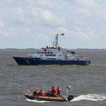 """Wasserschutzpolizeiboot """"Bürgermeister Brauer"""" / © Freiwillige Feuerwehr Cuxhaven-Duhnen"""