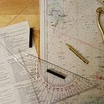 Zwischendurch Navigationsaufgaben rechnen © Freiwillige Feuerwehr Cuxhaven-Duhnen