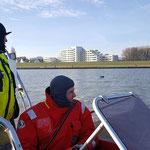 """""""Mann-über-Bord"""" © Freiwillige Feuerwehr Cuxhaven-Duhnen"""