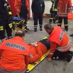 Schaufeltrage © Freiwillige Feuerwehr Cuxhaven-Duhnen