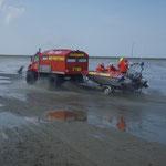 Der Wattretter der BF / © Freiwillige Feuerwehr Cuxhaven-Duhnen