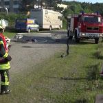 Menschenrettung unter Atemschutz © Freiwillige Feuerwehr Cuxhaven-Duhnen