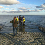 Endlich wieder an Land © Freiwillige Feuerwehr Cuxhaven-Duhnen