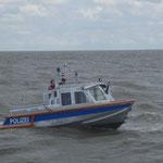 WS 63 der Wasserschutzpolizei Hamburg / © Freiwillige Feuerwehr Cuxhaven-Duhnen