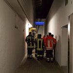 Eingang zum Technik-Keller © Freiwillige Feuerwehr Cuxhaven-Duhnen