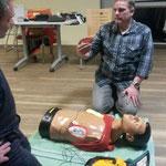 Herz-Lungen-Wiederbelebung © Freiwillige Feuerwehr Cuxhaven-Duhnen