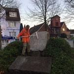 Vorreinigung © Freiwillige Feuerwehr Cuxhaven-Duhnen