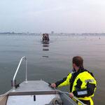 Der Trecker kommt .... / © Freiwillige Feuerwehr Cuxhaven-Duhnen