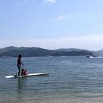 庄南ビーチ周辺の海