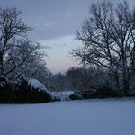 campagne du quercy dans le froid