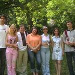 зустріч з київськими поетами у Лесиному Гаю
