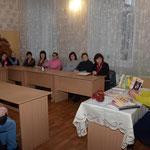 Ганна Литовець із читачами