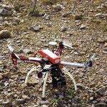 Drone au sol